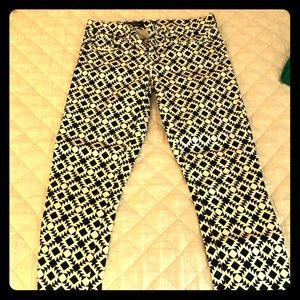 Jcrew cropped toothpick pants